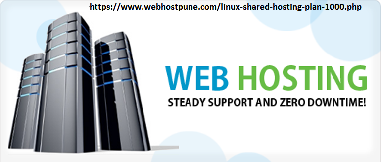 Linux Shared Web Hosting in 1000 rs